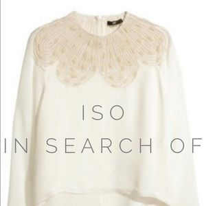 ISO H&M Blouse